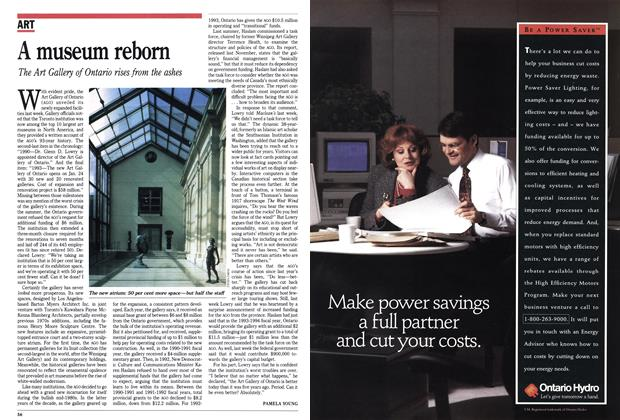 Article Preview: A museum reborn, February 1993 | Maclean's