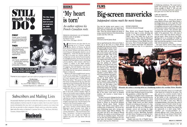 Article Preview: Big-screen mavericks, February 1993 | Maclean's