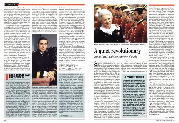 Article Preview: A quiet revolutionary, February 1993 | Maclean's