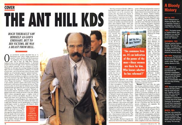 Article Preview: THE ANT HILL KIDS, February 1993 | Maclean's