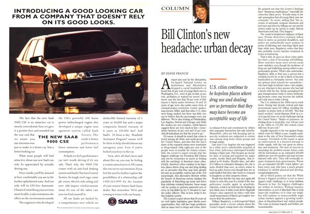 Article Preview: Bill Clinton's new headache: urban decay, February 1993 | Maclean's