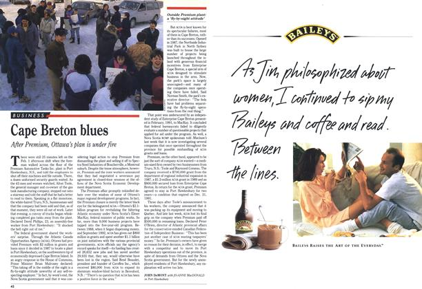 Article Preview: Cape Breton blues, February 1993 | Maclean's