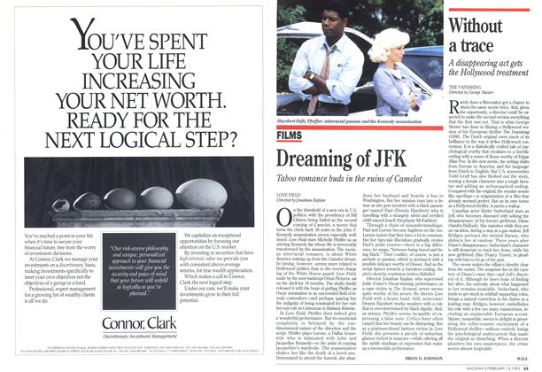 Article Preview: Dreaming of JFK, February 1993 | Maclean's
