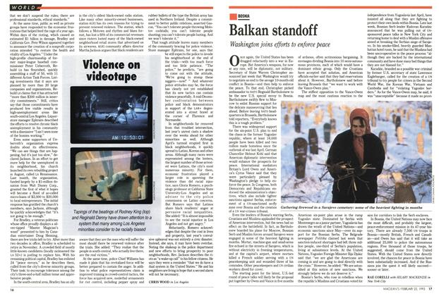 Article Preview: Balkan standoff, FEBRUARY  1993 | Maclean's