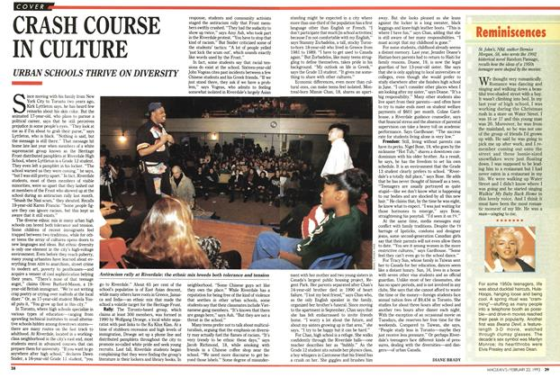 Article Preview: CRASH COURSE IN CULTURE, FEBRUARY  1993 | Maclean's