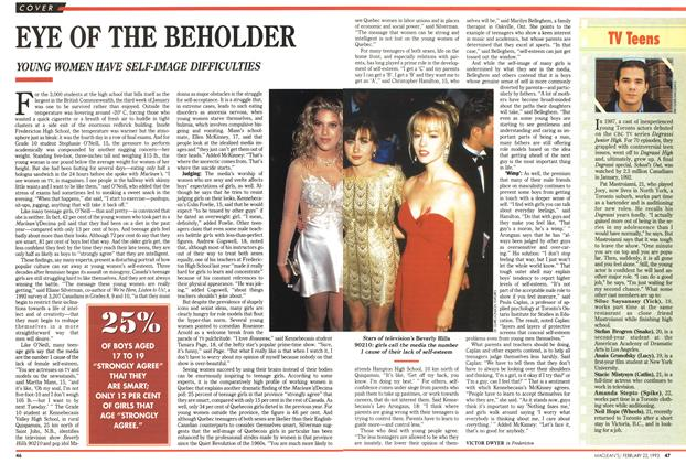 Article Preview: EYE OF THE BEHOLDER, FEBRUARY  1993 | Maclean's