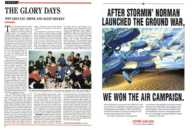 Article Preview: THE GLORY DAYS, FEBRUARY  1993 | Maclean's