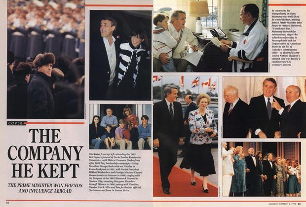 Article Preview: THE COMPANY HE KEPT, March 1993 | Maclean's