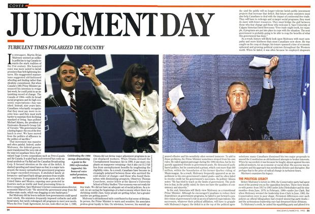 Article Preview: JUDGMENT DAY, March 1993 | Maclean's
