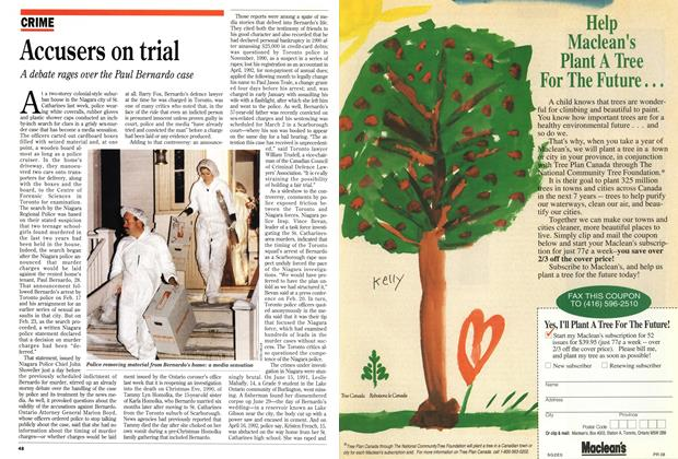 Article Preview: Accusers on trial, March 1993 | Maclean's