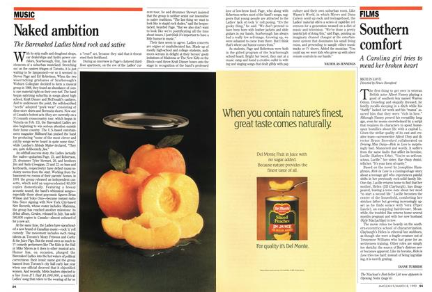 Article Preview: Naked ambition, March 1993 | Maclean's