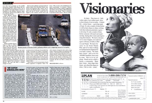 Article Preview: 'WE CATCH SMUGGLERS HERE', March 1993 | Maclean's