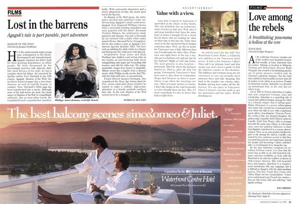 Article Preview: Lost in the barrens, March 1993 | Maclean's