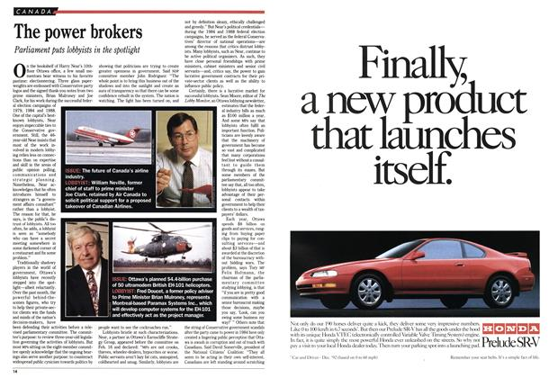 Article Preview: The power brokers, March 1993 | Maclean's