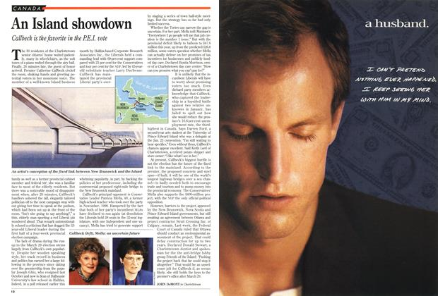 Article Preview: An Island showdown, March 1993 | Maclean's