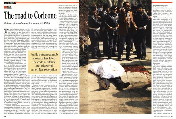 Article Preview: The road to Corleone, March 1993 | Maclean's