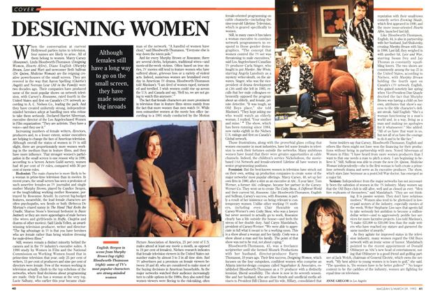 Article Preview: DESIGNING WOMEN, March 1993   Maclean's