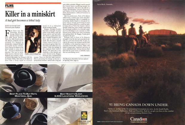 Article Preview: Killer in a miniskirt, March 1993 | Maclean's