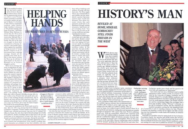 Article Preview: HISTORY'S MAN, April 1993 | Maclean's