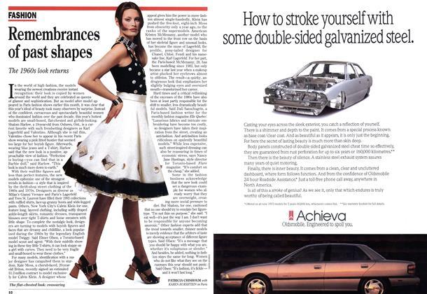 Article Preview: Remembrances of past shapes, April 1993 | Maclean's