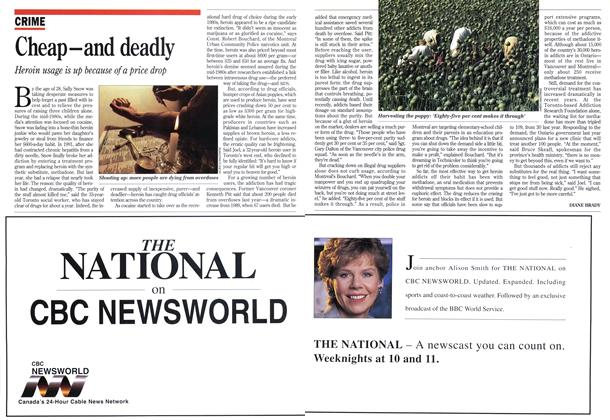 Article Preview: Cheap-and deadly, April 1993 | Maclean's