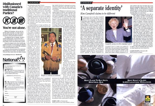 Article Preview: 'A separate identity', April 1993 | Maclean's