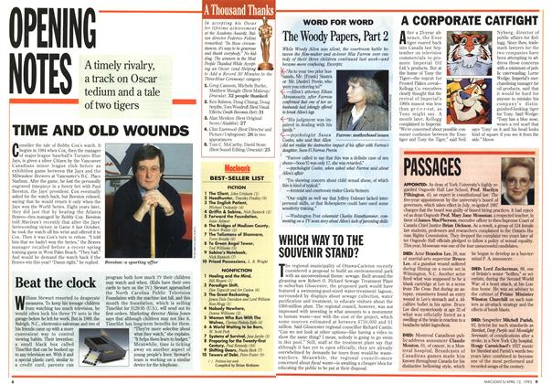 Article Preview: Maclean's, April 1993 | Maclean's