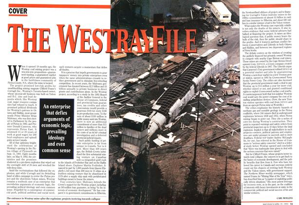 Article Preview: THE WESTRAY FILE, April 1993 | Maclean's