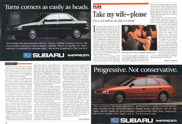 Article Preview: Take my wife-please, April 1993 | Maclean's