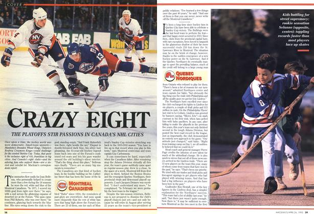 Article Preview: CRAZY EIGHT, April 1993 | Maclean's