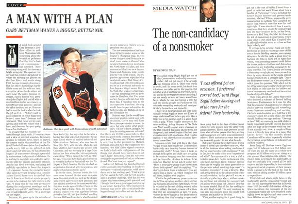 Article Preview: The non-candidacy of a nonsmoker, April 1993 | Maclean's