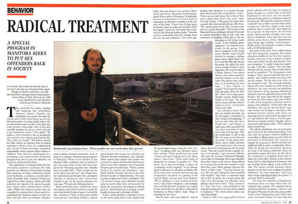Article Preview: RADICAL TREATMENT, April 1993 | Maclean's