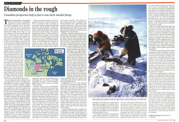 Article Preview: Diamonds in the rough, May 1993 | Maclean's