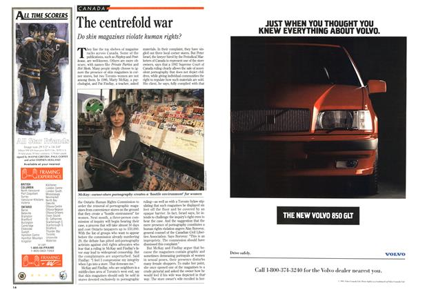 Article Preview: The centrefold war, May 1993 | Maclean's
