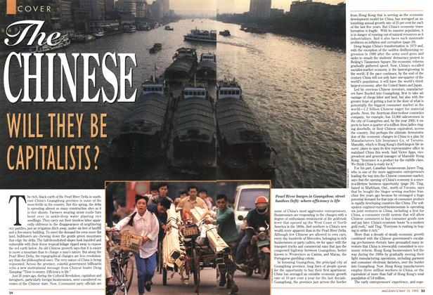 Article Preview: The CHINESE, May 1993 | Maclean's
