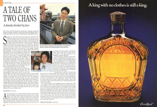 Article Preview: A TALE OF TWO CHANS, May 1993 | Maclean's