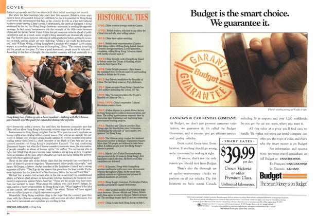 Article Preview: HISTORICAL TIES, May 1993 | Maclean's