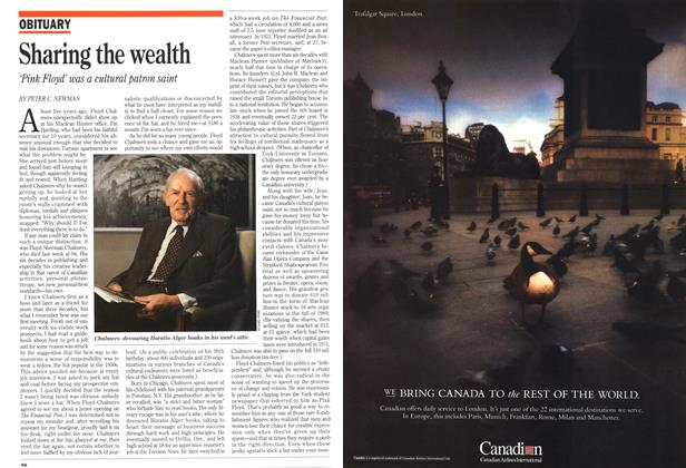 Article Preview: Sharing the wealth, May 1993 | Maclean's