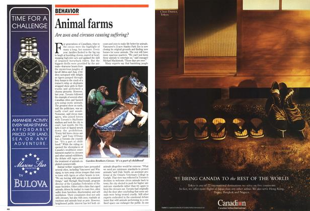 Article Preview: Animal farms, May 1993 | Maclean's