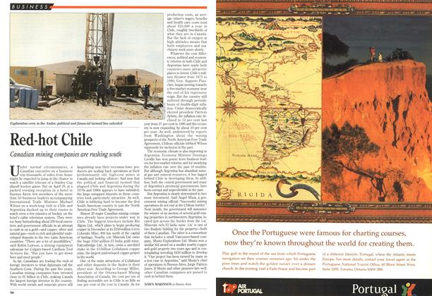 Article Preview: Red-hot Chile, May 1993 | Maclean's