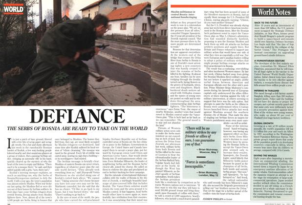 Article Preview: DEFIANCE, May 1993 | Maclean's