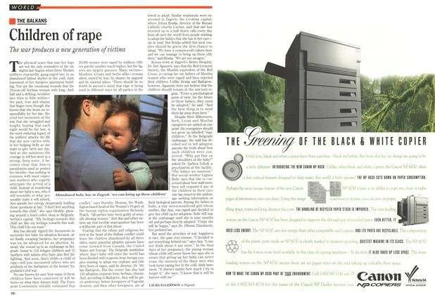 Article Preview: Children of rape, May 1993 | Maclean's