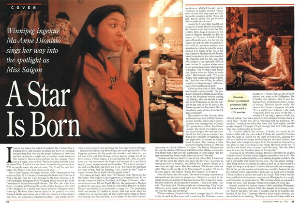 Article Preview: A Star Is Born, May 1993 | Maclean's