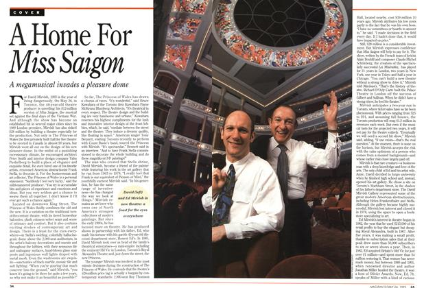 Article Preview: A Home For Miss Saigon, May 1993 | Maclean's