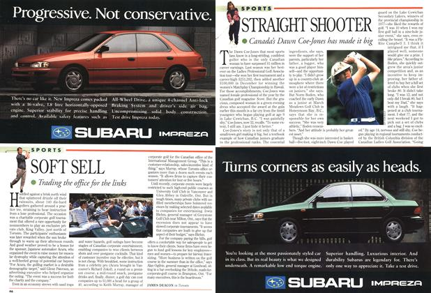 Article Preview: STRAIGHT SHOOTER, May 1993 | Maclean's