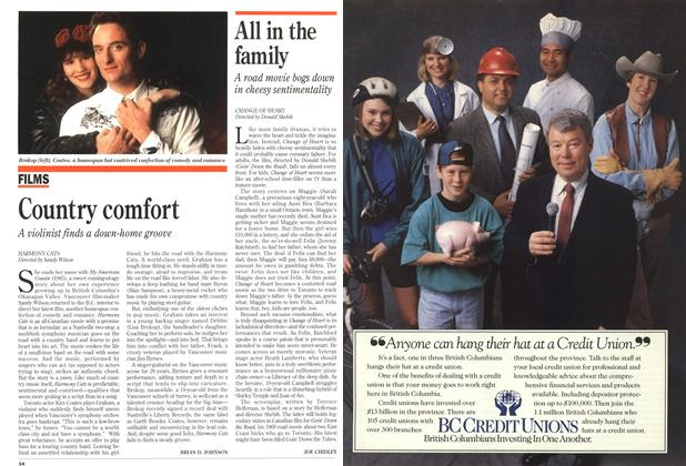 Article Preview: All in the family, May 1993 | Maclean's