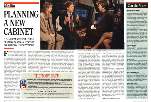 Article Preview: Canada Notes, May 1993 | Maclean's