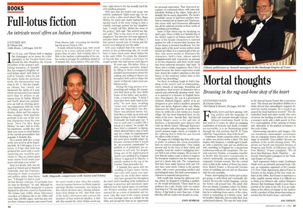 Article Preview: Full-lotus fiction, May 1993 | Maclean's