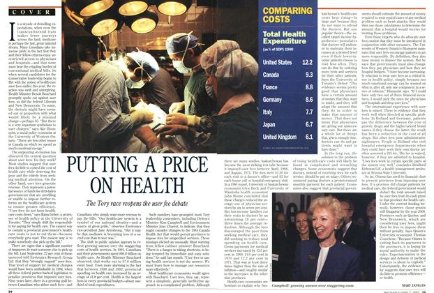 Article Preview: PUTTING A PRICE ON HEALTH, June 1993 | Maclean's