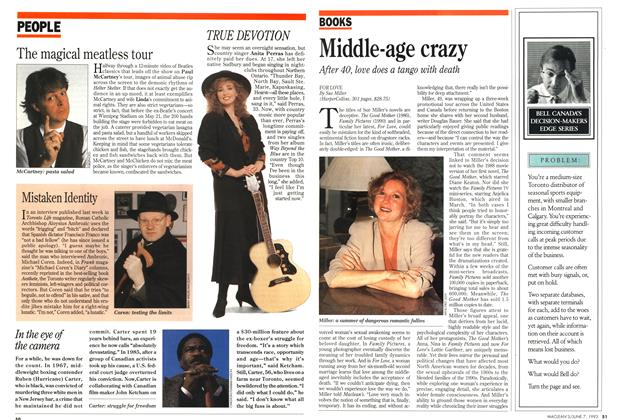 Article Preview: Middle-age crazy, June 1993 | Maclean's